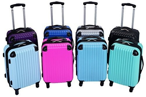 GoPlus Globaway Luggage Set Different Colors