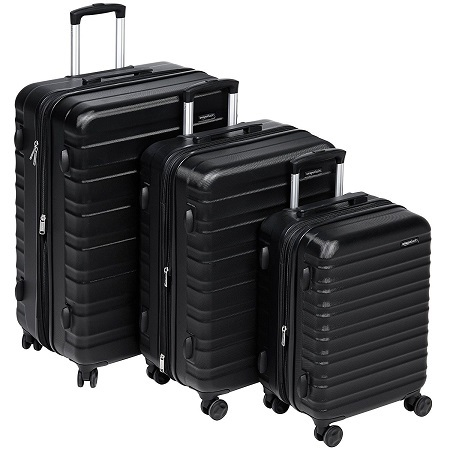 AmazonBasics Hardside Luggage Set