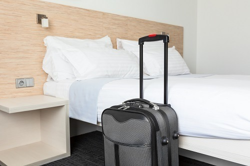 Traveling Luggage In Room