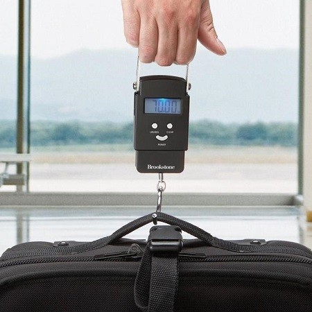Measuring Luggage Weight