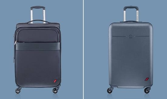 Two Types Of Luggage Shell